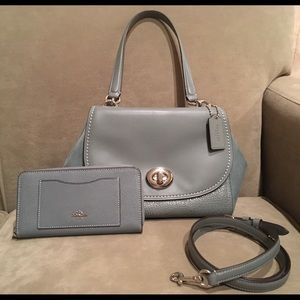 Coach Faye Bag / Wallet Set (Price is Firm)